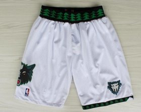Wholesale Cheap Minnesota Timberwolves White Swingman Short
