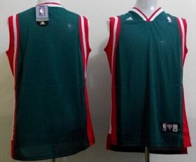 Wholesale Cheap Milwaukee Bucks Blank Green Swingman Jersey
