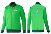 Wholesale Cheap NFL Green Bay Packers Heart Jacket Green