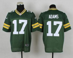 Wholesale Cheap Nike Packers #17 Davante Adams Green Team Color Men\'s Stitched NFL Elite Jersey