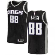 Wholesale Cheap Nike Kings #88 Nemanja Bjelica Black NBA Swingman Statement Edition Jersey