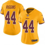Wholesale Cheap Nike Redskins #44 John Riggins Gold Women's Stitched NFL Limited Rush Jersey