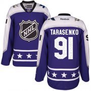 Wholesale Cheap Blues #91 Vladimir Tarasenko Purple 2017 All-Star Central Division Stitched NHL Jersey