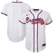 Wholesale Cheap Atlanta Braves Nike Youth Home 2020 MLB Team Jersey White