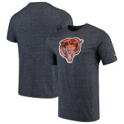 Wholesale Cheap Chicago Bears Nike Marled Historic Logo Performance T-Shirt Heathered Navy