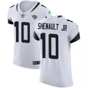 Wholesale Cheap Nike Jaguars #10 Laviska Shenault Jr. White Men's Stitched NFL New Elite Jersey
