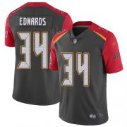 Wholesale Cheap Nike Buccaneers #34 Mike Edwards Gray Men's Stitched NFL Limited Inverted Legend Jersey