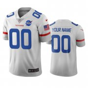 Wholesale Cheap Houston Texans Custom White Vapor Limited City Edition NFL Jersey