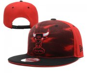Wholesale Cheap NBA Chicago Bulls Snapback Ajustable Cap Hat YD 03-13_16