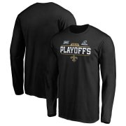 Wholesale Cheap New Orleans Saints 2019 NFL Playoffs Bound Chip Shot Long Sleeve T-Shirt Black