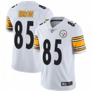 Wholesale Cheap Youth Pittsburgh Steelers #85 Eric Ebron Vapor Untouchable Jersey - White Limited
