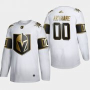 Wholesale Cheap Vegas Golden Knights Custom Men's Adidas White Golden Edition Limited Stitched NHL Jersey
