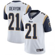 Wholesale Cheap Nike Rams #21 Donte Deayon White Youth Stitched NFL Vapor Untouchable Limited Jersey