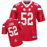Wholesale Cheap Ravens #52 Ray Lewis 2011 Red Pro Bowl Stitched NFL Jersey