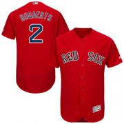 Wholesale Cheap Red Sox #2 Xander Bogaerts Red Flexbase Authentic Collection Stitched MLB Jersey