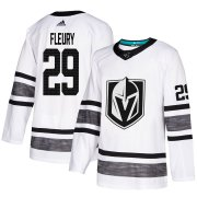 Wholesale Cheap Adidas Golden Knights #29 Marc-Andre Fleury White Authentic 2019 All-Star Stitched Youth NHL Jersey