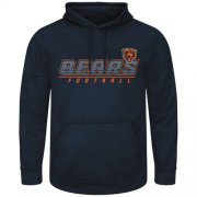 Wholesale Cheap Chicago Bears Majestic Punt Return Pullover Hoodie Navy