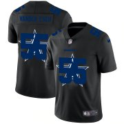 Wholesale Cheap Dallas Cowboys #55 Leighton Vander Esch Men's Nike Team Logo Dual Overlap Limited NFL Jersey Black