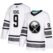 Wholesale Cheap Adidas Sabres #9 Jack Eichel White Authentic 2019 All-Star Youth Stitched NHL Jersey