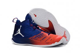 Wholesale Cheap Air Jordan Super Fly 5 X Shoes Blue/red-white
