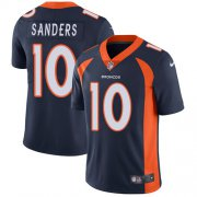 Wholesale Cheap Nike Broncos #10 Emmanuel Sanders Navy Blue Alternate Men's Stitched NFL Vapor Untouchable Limited Jersey