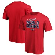 Wholesale Cheap Washington Nationals Majestic 2019 World Series Bound Can of Corn T-Shirt Red