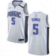 Wholesale Cheap Nike Orlando Magic #5 Mohamed Bamba White NBA Swingman Association Edition Jersey