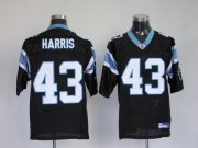Wholesale Cheap Panthers #43 Chris Harris Black Stitched NFL Jersey