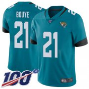 Wholesale Cheap Nike Jaguars #21 A.J. Bouye Teal Green Alternate Men's Stitched NFL 100th Season Vapor Limited Jersey