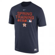 Wholesale Cheap Men's Houston Astros Nike Navy Authentic Collection Legend Team Issue Performance T-Shirt