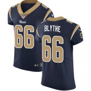 Wholesale Cheap Nike Rams #66 Austin Blythe Navy Blue Team Color Men's Stitched NFL Vapor Untouchable Elite Jersey