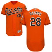 Wholesale Cheap Orioles #28 Colby Rasmus Orange Flexbase Authentic Collection Stitched MLB Jersey