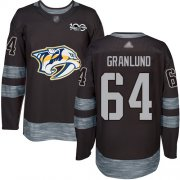 Wholesale Cheap Adidas Predators #64 Mikael Granlund Black 1917-2017 100th Anniversary Stitched NHL Jersey