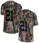 Wholesale Cheap Nike Browns #21 Denzel Ward Camo Men's Stitched NFL Limited Rush Realtree Jersey