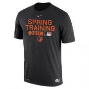 Wholesale Cheap Men's Baltimore Orioles Nike Black Authentic Collection Legend Team Issue Performance T-Shirt