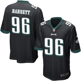 Wholesale Cheap Nike Eagles #96 Derek Barnett Black Alternate Youth Stitched NFL New Elite Jersey