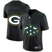 Wholesale Cheap Green Bay Packers #26 Darnell Savage Jr. Men's Nike Team Logo Dual Overlap Limited NFL Jersey Black