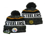 Wholesale Cheap Pittsburgh Steelers Beanies Hat YD 20-11