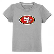 Wholesale Cheap San Francisco 49ers Sideline Legend Authentic Logo Youth T-Shirt Grey
