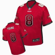 Wholesale Cheap Nike 49ers #8 Steve Young Red Team Color Men's Stitched NFL Elite Drift Fashion Jersey