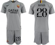 Wholesale Cheap Roma #28 Bianda Away Soccer Club Jersey