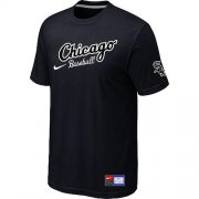 Wholesale Cheap Chicago White Sox Nike Away Practice MLB T-Shirt Black