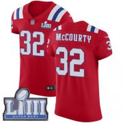 Wholesale Cheap Nike Patriots #32 Devin McCourty Red Alternate Super Bowl LIII Bound Men's Stitched NFL Vapor Untouchable Elite Jersey