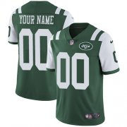 Wholesale Cheap Nike New York Jets Customized Green Team Color Stitched Vapor Untouchable Limited Youth NFL Jersey
