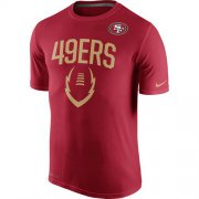 Wholesale Cheap San Francisco 49ers Nike Legend Icon Performance T-Shirt Scarlet