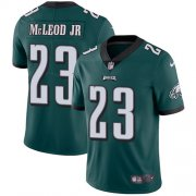 Wholesale Cheap Nike Eagles #23 Rodney McLeod Jr Midnight Green Team Color Men's Stitched NFL Vapor Untouchable Limited Jersey