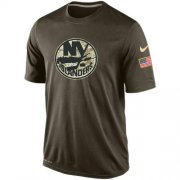 Wholesale Cheap Men's New York Islanders Salute To Service Nike Dri-FIT T-Shirt