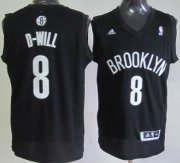 Wholesale Cheap Brooklyn Nets #8 D-Will Nickname Black Swingman Jersey