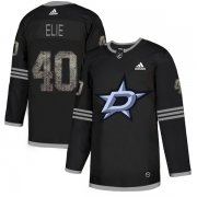 Wholesale Cheap Adidas Stars #40 Remi Elie Black Authentic Classic Stitched NHL Jersey