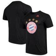 Wholesale Cheap Bayern Munich adidas Primary Logo Ultimate T-Shirt Black